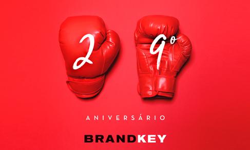 Brandkey festeja o 29º aniversário